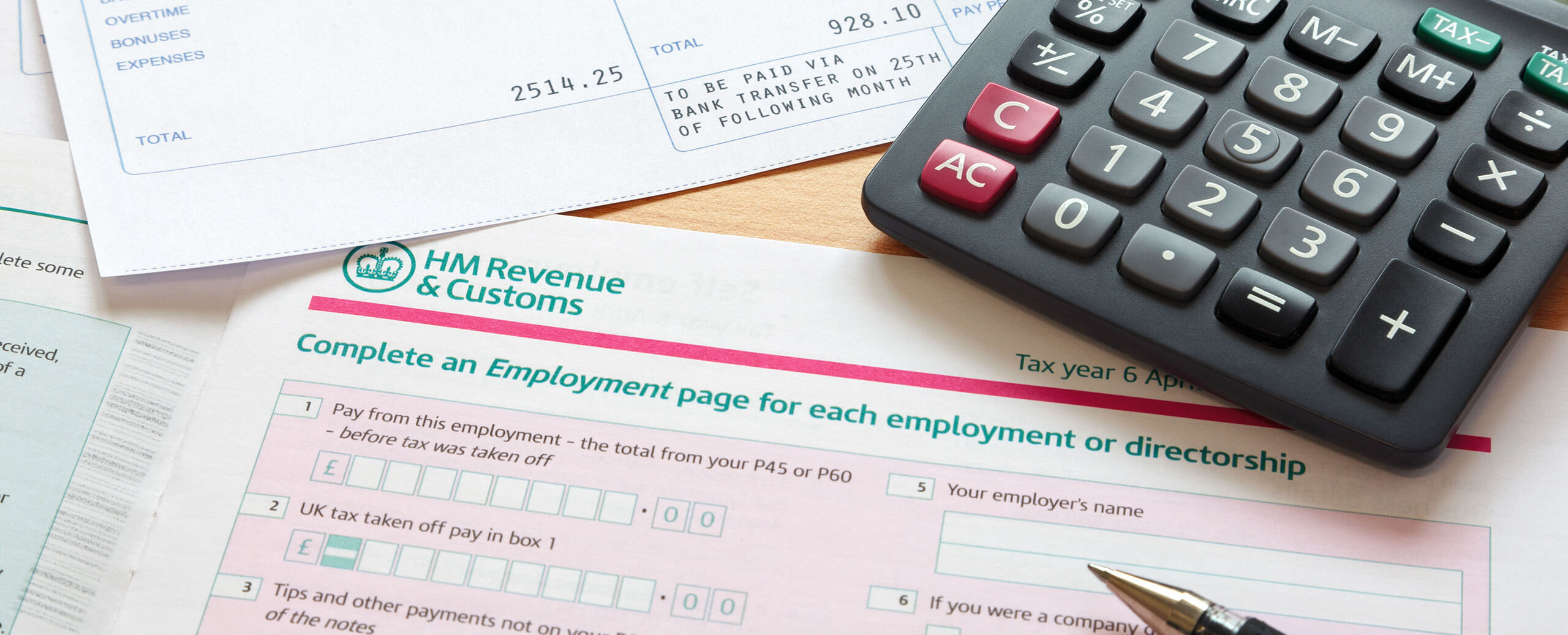 Self Assessment Tax Return Accountants
